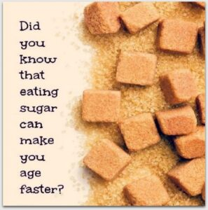 Glikacja kolagenu - Cukier może przyspieszyć starzenie się